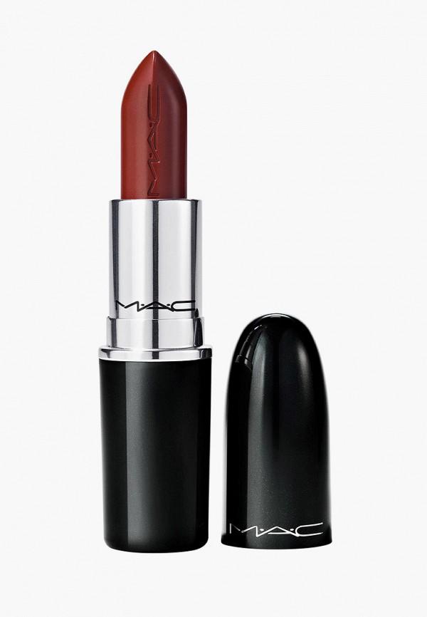 женская помада mac, бордовая