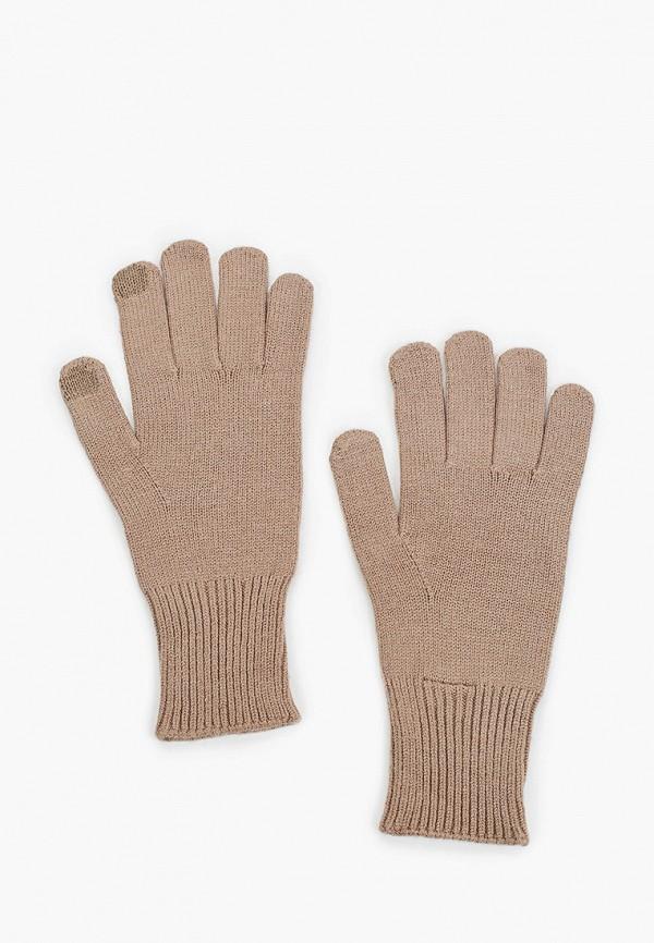 женские перчатки pieces, бежевые