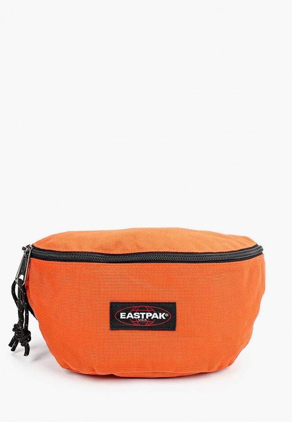 женская поясные сумка eastpak, оранжевая