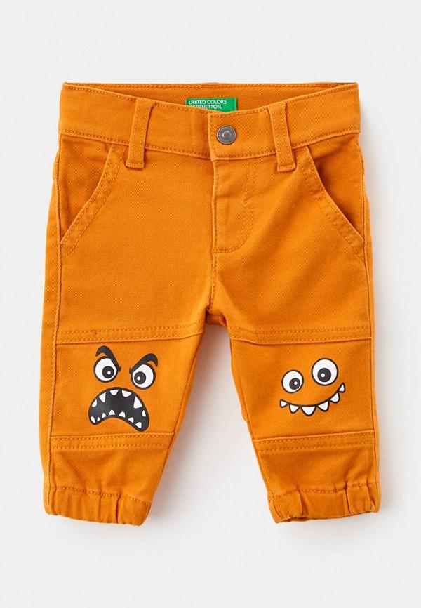 брюки united colors of benetton для мальчика, желтые