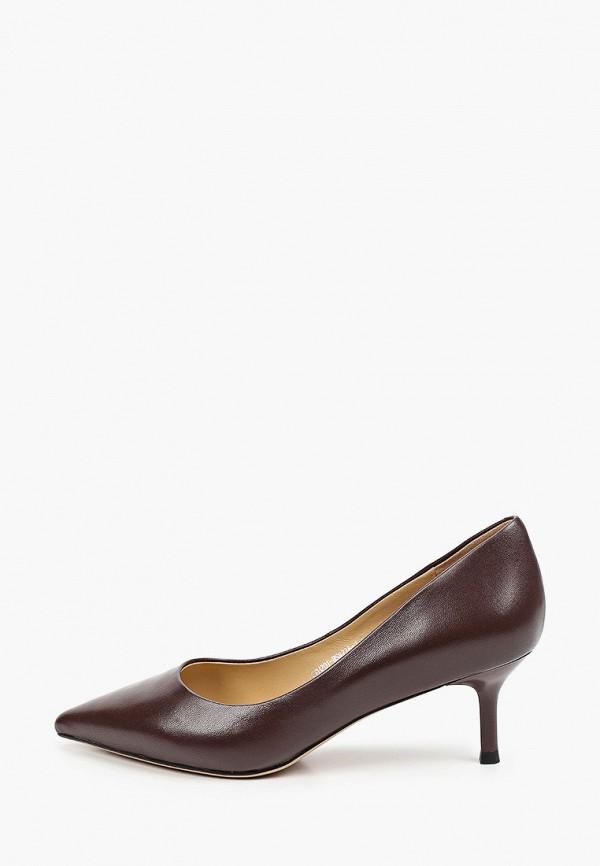 женские туфли-лодочки el tempo, коричневые