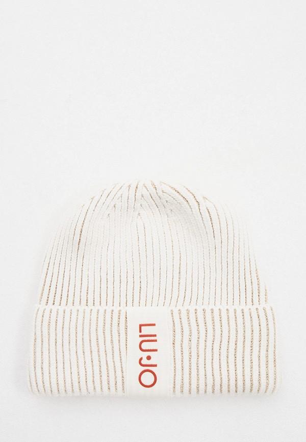 женская шапка liu jo, белая