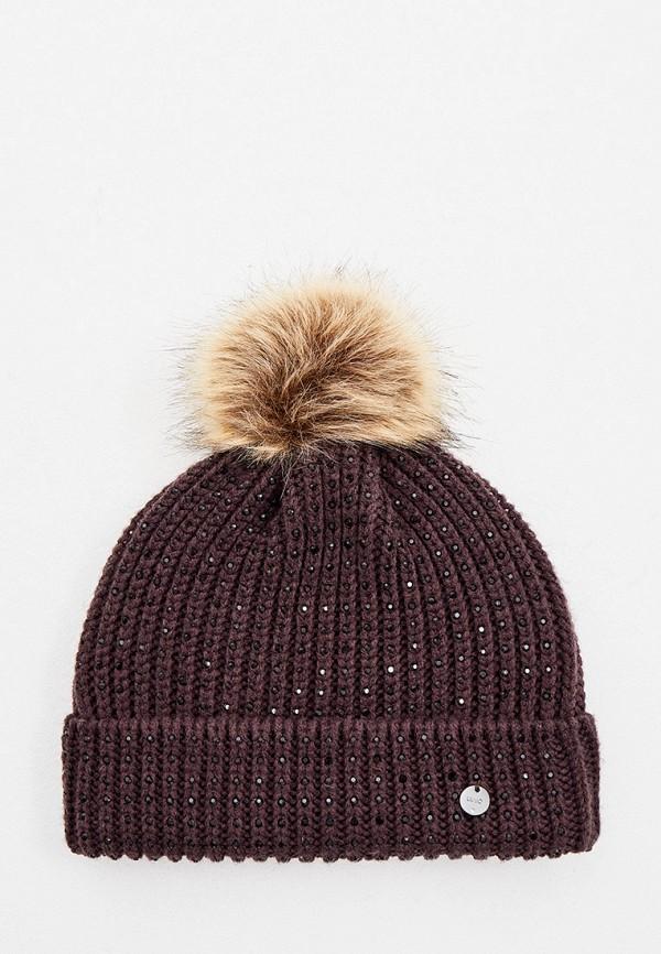 женская шапка liu jo, коричневая