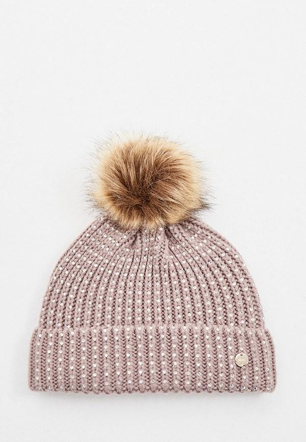 женская шапка liu jo, бежевая