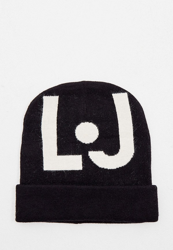 женская шапка liu jo, черная