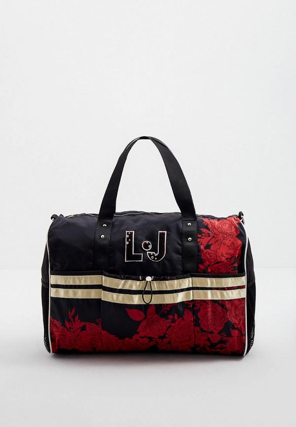 женская спортивные сумка liu jo, черная