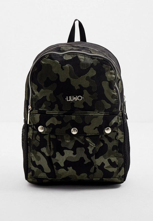 женский рюкзак liu jo, хаки