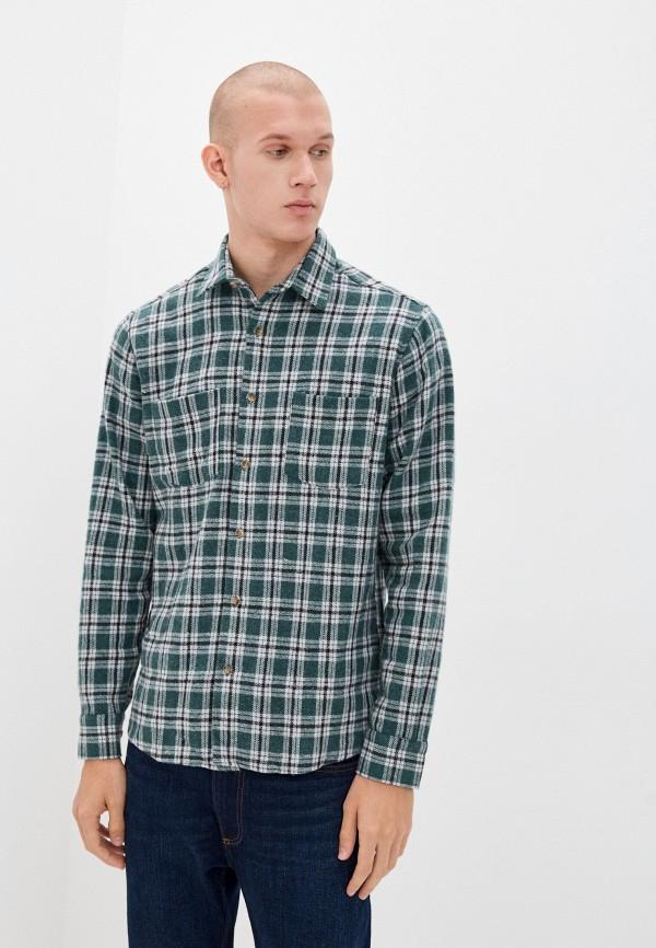 мужская рубашка с длинным рукавом trendyol, зеленая