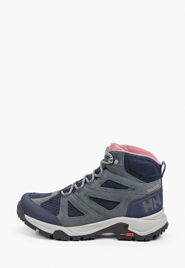 женские ботинки helly hansen, бирюзовые