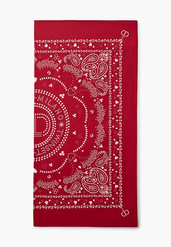 женский платок twinset milano, красный
