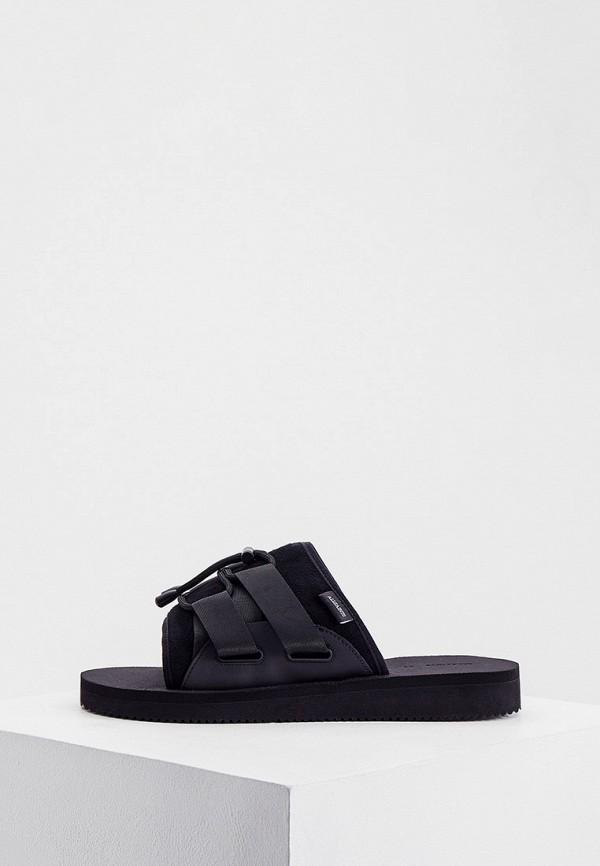 мужские сандалии allsaints, черные