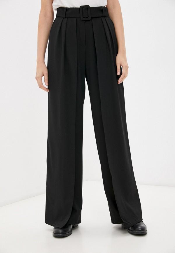 женские повседневные брюки moki, черные
