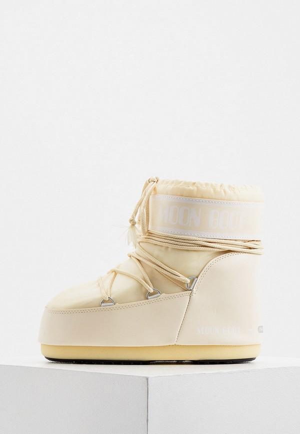 женские луноходы moon boot, бежевые