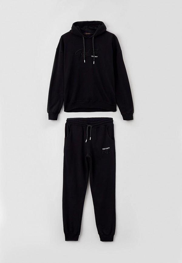 спортивный костюм dali для мальчика, черный