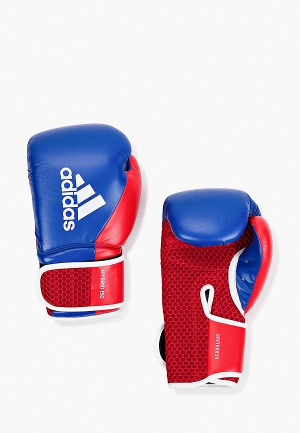 женские перчатки adidas, синие