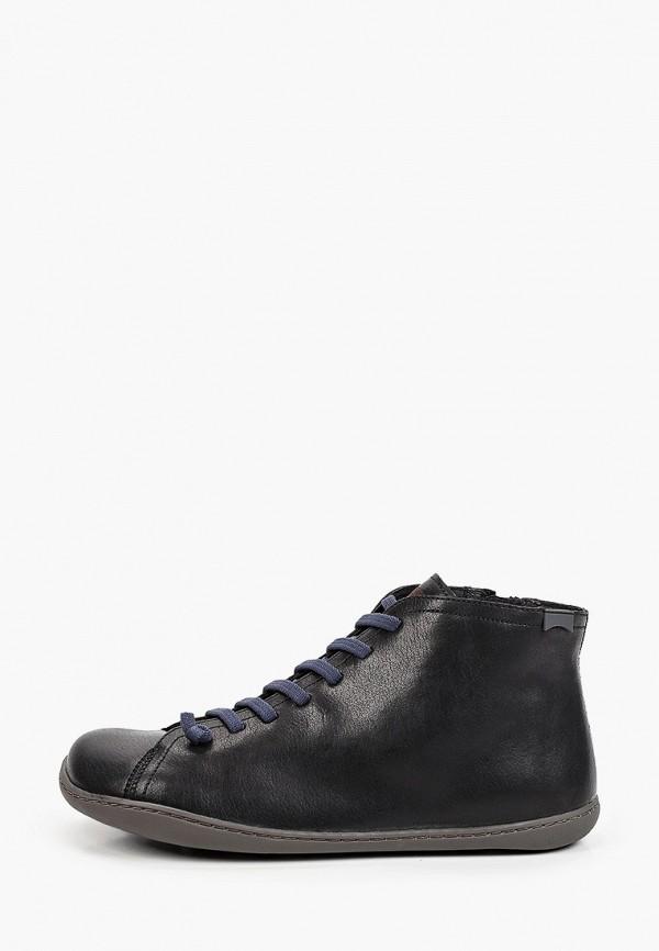 Ботинки Camper черного цвета
