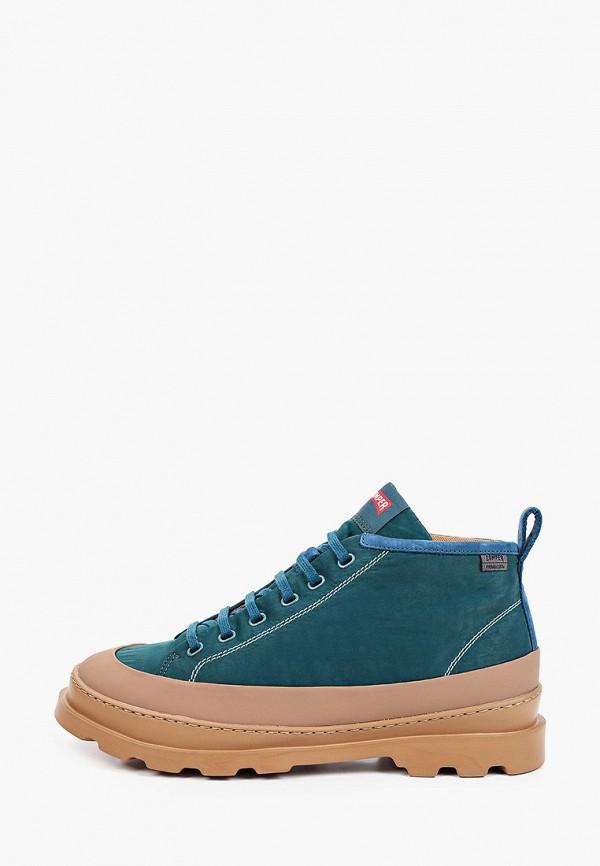 Ботинки Camper бирюзового цвета