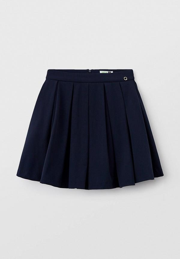 юбка sela для девочки, синяя