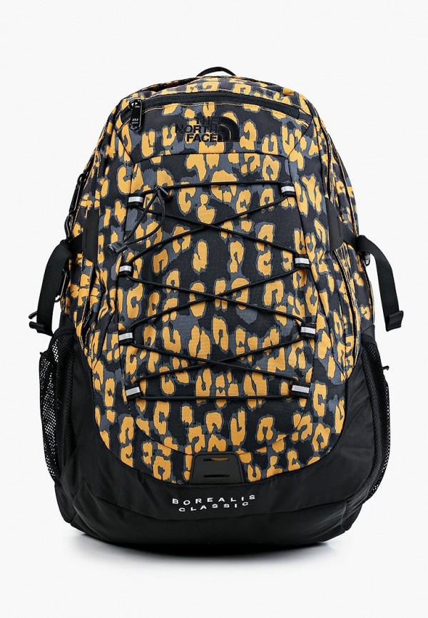 женский рюкзак the north face, разноцветный