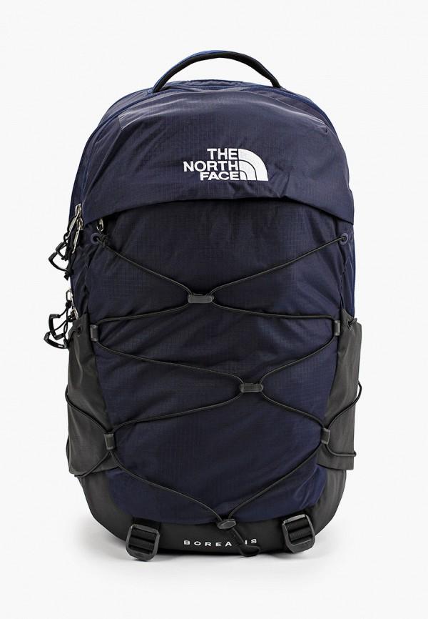 женский рюкзак the north face, синий