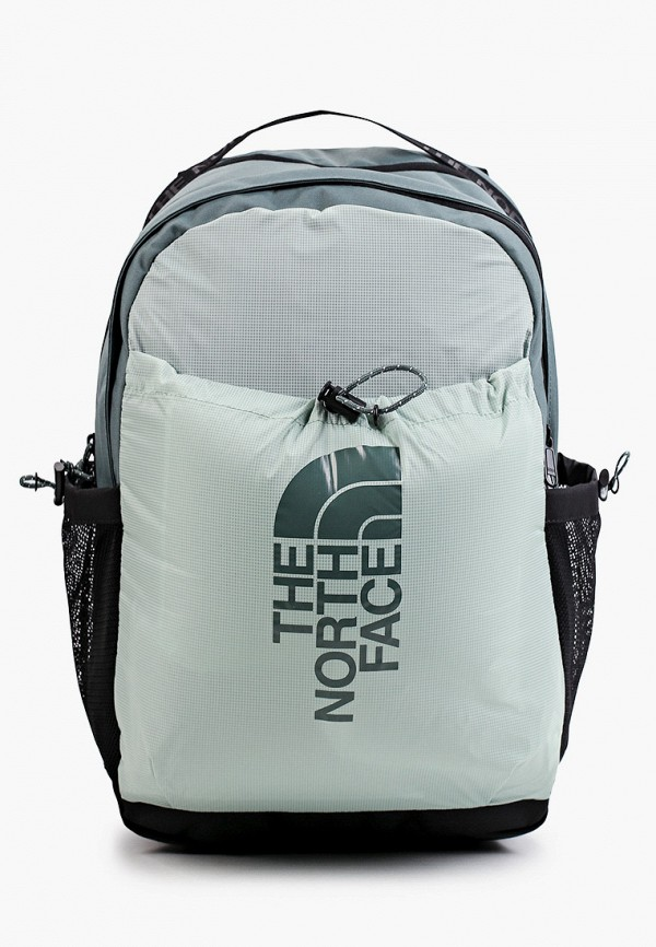 женский рюкзак the north face, бирюзовый