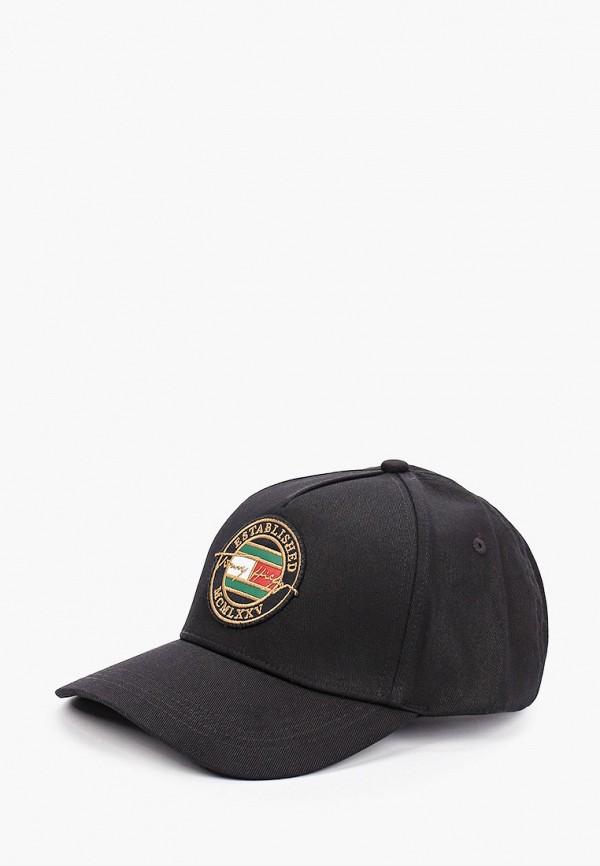 Бейсболка Tommy Hilfiger черного цвета
