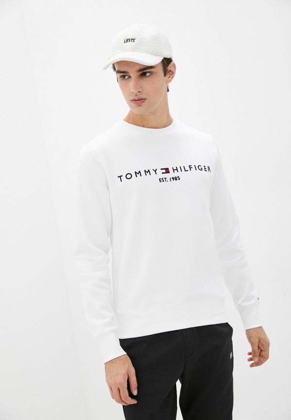 Свитшот Tommy Hilfiger белого цвета