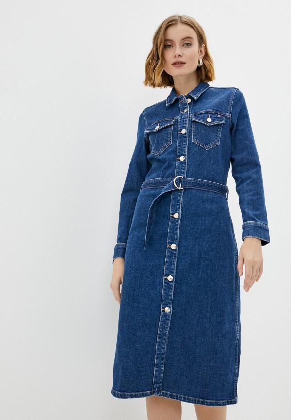 Платье джинсовое Tommy Hilfiger синего цвета