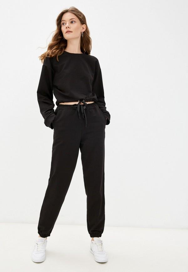 женский спортивный костюм rene santi, черный