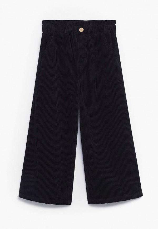 брюки mango kids для девочки, черные