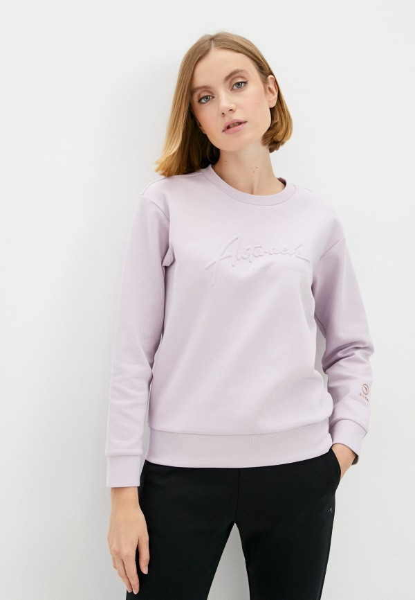 женский свитшот anta, фиолетовый