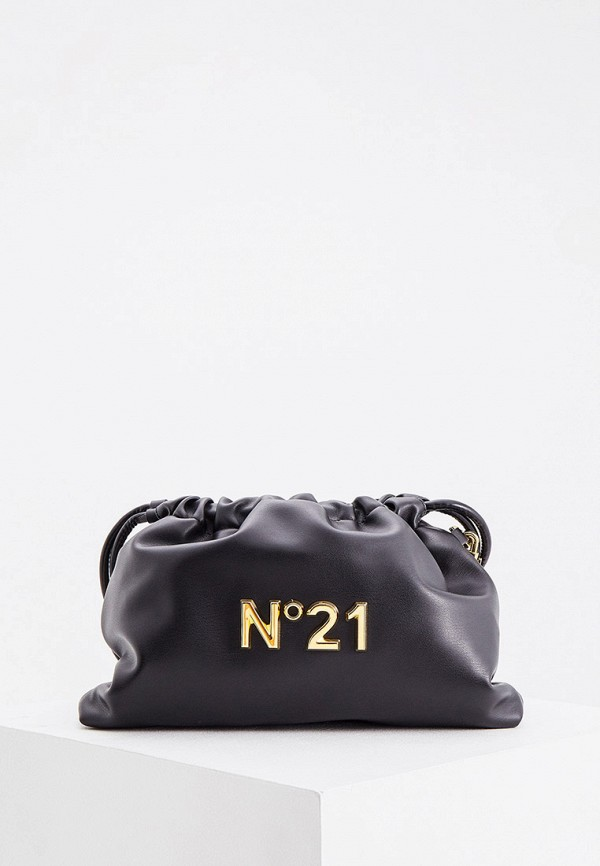 женский кошелёк n21, черный