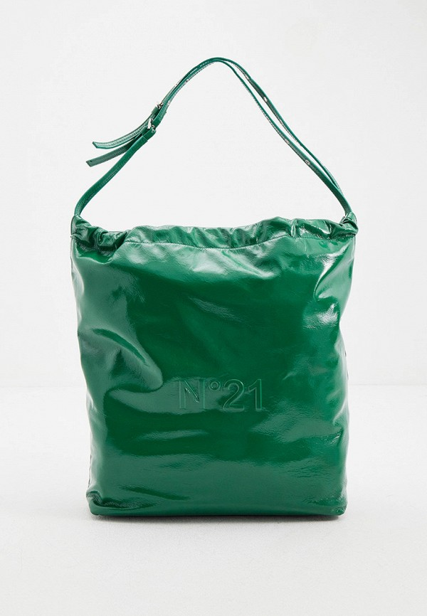 женская сумка с ручками n21, зеленая