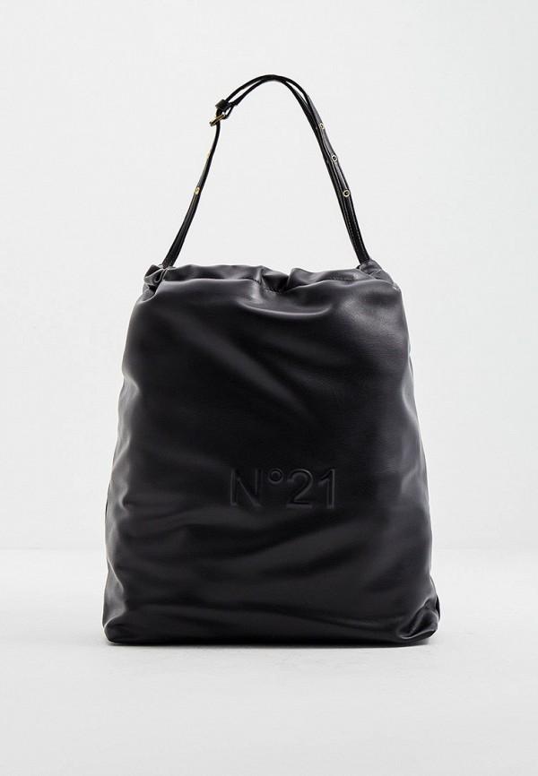 женская сумка-шоперы n21, черная