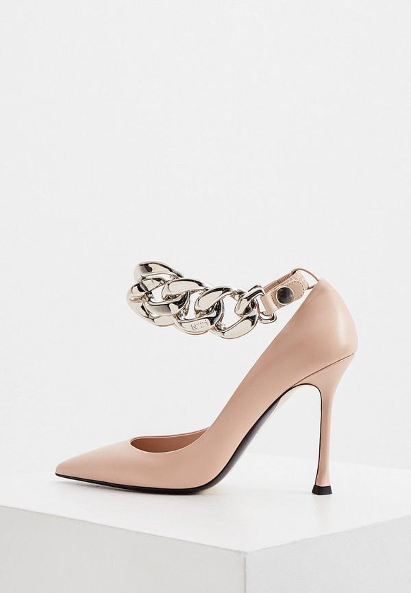 женские туфли n21, розовые