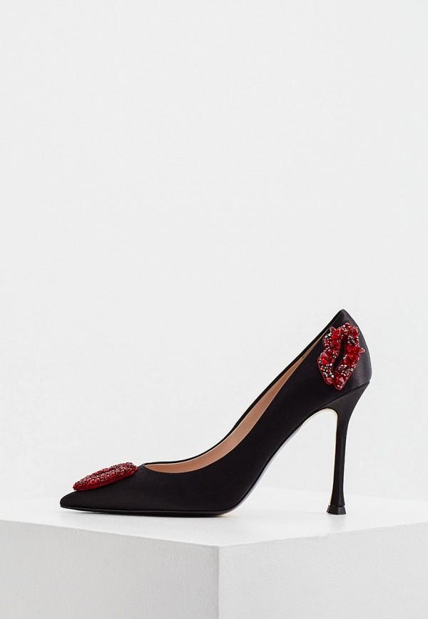 женские туфли n21, черные