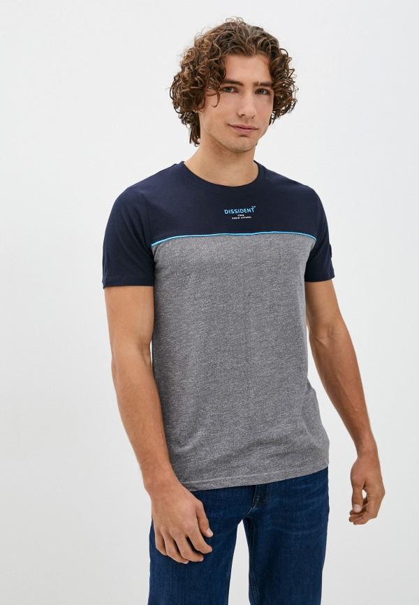 мужская футболка с коротким рукавом dissident, разноцветная