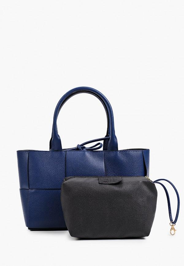 женская сумка-шоперы giorgio costa, синяя