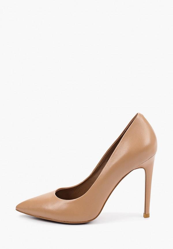женские туфли-лодочки corso como, коричневые