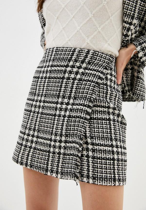женская прямые юбка kontatto, разноцветная