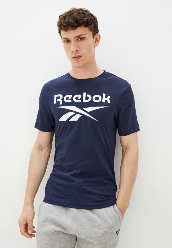 Футболка Reebok синего цвета