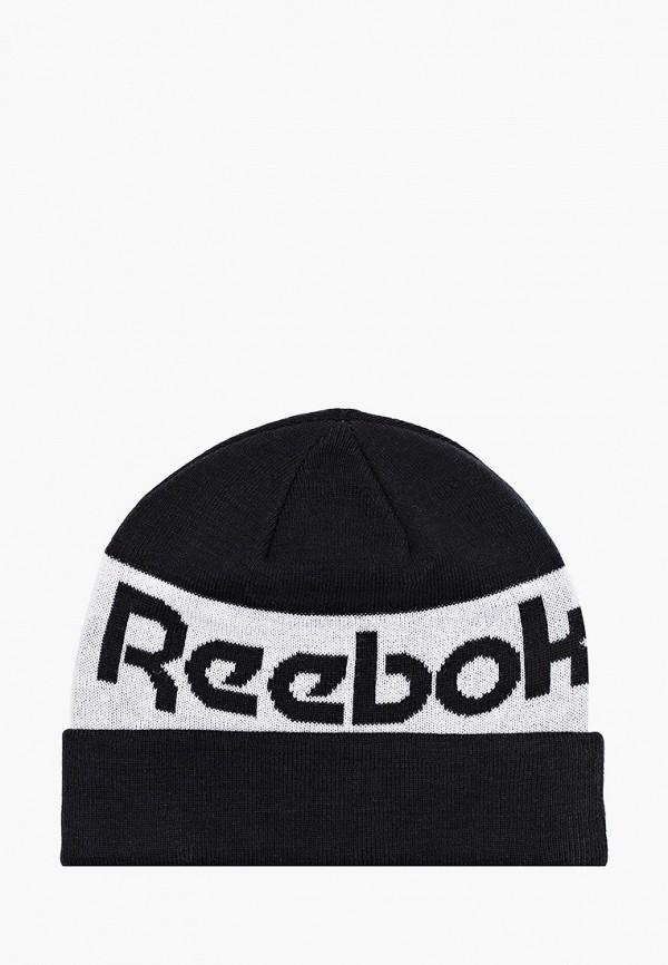 Шапка Reebok черного цвета