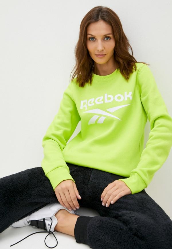 Свитшот Reebok зеленого цвета