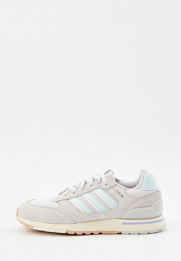 Кроссовки adidas серого цвета