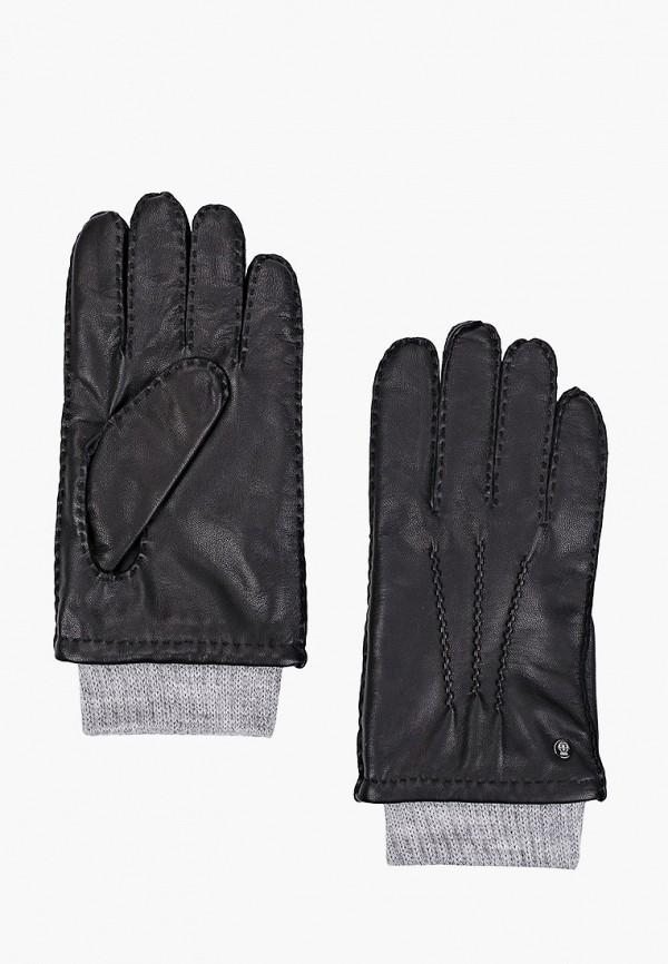 мужские кожаные перчатки roeckl, черные