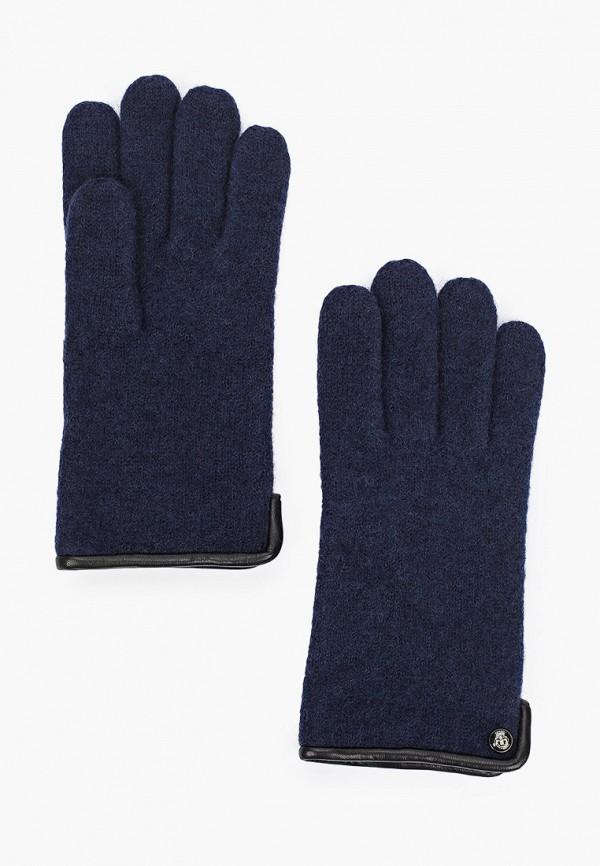 мужские перчатки roeckl, синие