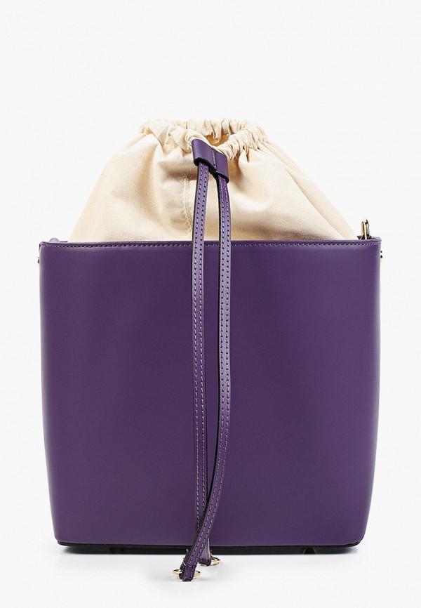 женская сумка через плечо kristy.x, фиолетовая