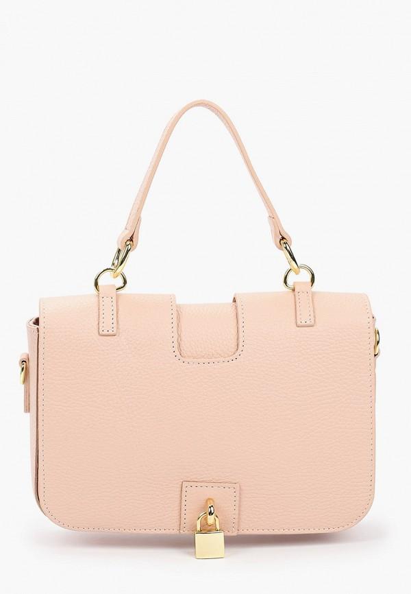 женская сумка с ручками kristy.x, розовая
