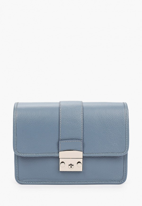 женская сумка с ручками kristy.x, голубая