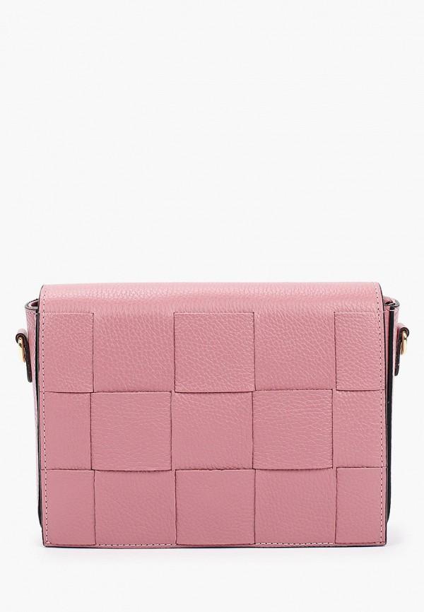 женская сумка через плечо kristy.x, розовая